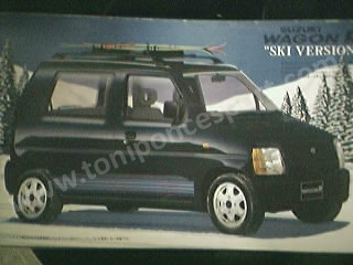 Suzuki Wagon R Ski version 1/24