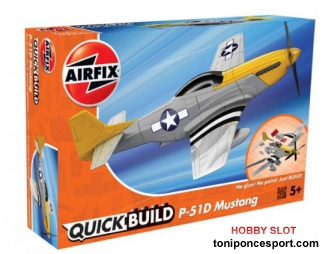 Avion QUICK BUILD Mustang P-51D