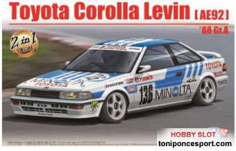 Toyota Levin AE92 Gr.A 1988