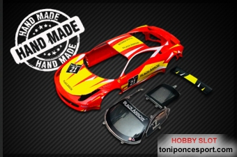 GT3 Italia Body Kit RED-YELLOW #21