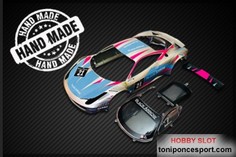 GT3 Italia Body Kit SILVER-BLUE #21