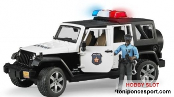 Jeep Wrangler Unlimited Rubicon Vehiculo Policia