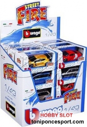 Street Fire Model Car - Assorted Designs - Surtido coches