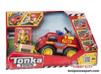 Tonka Town Fire Car
