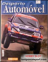 Libro Desporto Automovel 2001