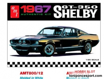 AMT Shelby GT350 1967 Black