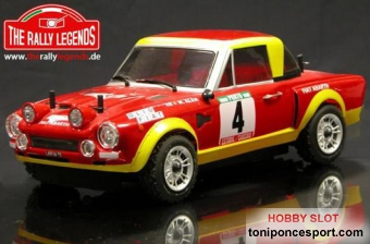 Fiat 124 Abarth 1975 4WD Rally ARTR 2,4G.