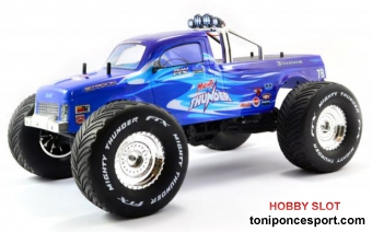 FTX Mighty Thunder 4WD Monster truck Azul