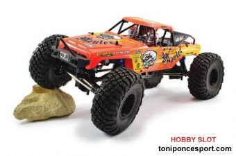 Crawler Mauler 4X4 Rock Brushed READY-TO-