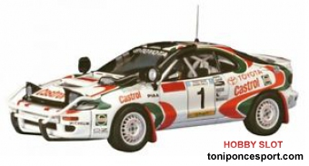 Toyota Celica Turbo 4WD 1993 Safari Rally Winner