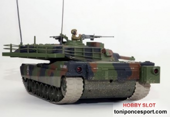 Tanque Abrams M1 A1 Camuflaje 2.4G.
