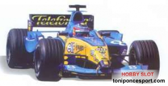 Renault F1 2004 Fdo. Alonso 1/24
