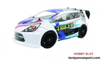 Coche Tricer 1/18 Brushless Rally RTR