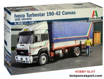 Camion Iveco Turbostar190-42 Canvas with elevator