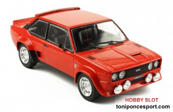 Fiat 131 Abarth red, 1980