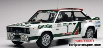 Fiat 131 Abarth - 1978 Rally France - #5 S. Munari