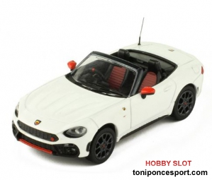 Fiat Abarth 124 Spider Turismo White