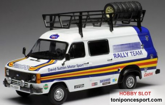 Ford Transit MKII England Van Team Rothmans Rally Assistance 1979