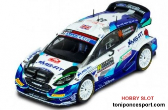 Ford Fiesta WRC, No.44, Rally Monte Carlo , G.Greensmith/E.Edmondson, 2021
