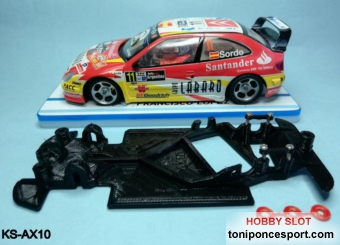 Chasis Angular RACE SOFT Compatible Citroen Xsara Pro SCX