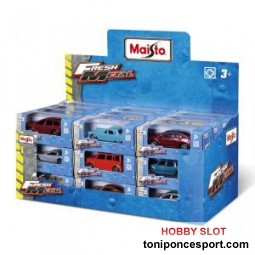 Coche fresh metal escala 1/72 surtido (x1)