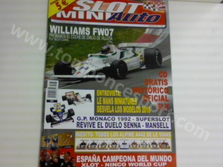 Revista N�63 portada Williams FW07 Fly Slot Cars