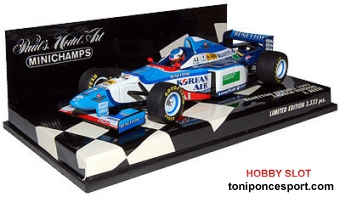 Benetton Renault 1997 Launnch Version F1 Jean Alessi
