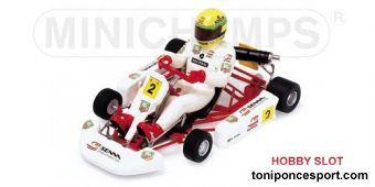 Kart Ayrton Senna 1993 Racing Car Colection