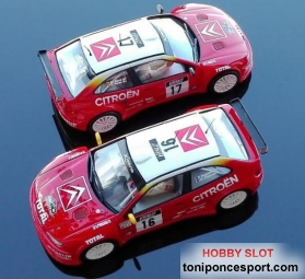 Set Citroen Xsara Kit Car 1� y 2� Rallye Tour de Corse 1999 - Bugalski - Puras