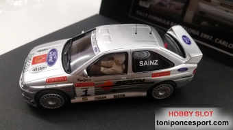 Ford Escort Cosworth Rally Formula Barcelona Carlos Sainz