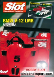 Revista N�134 portada BMW V-12 LMR Arrow Slot