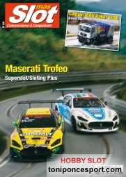 Revista N�155 portada Maserati Trofeo - Superslot/Sloting Plus