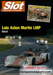Revista N�161 portada Lola Aston Martin LMP Slot.it