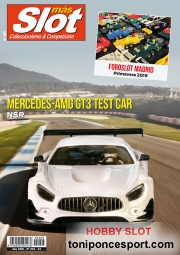Revista N�205 portada Mercedes AMG GT3 Test Car NSR