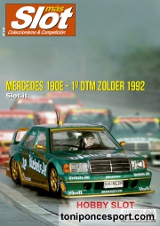 Revista N�210 portadoa Mercedes 190E Slot.it