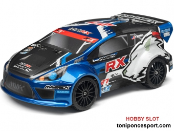 Coche MAVERICK ION RX 1/18 Electric RALLY CAR RTR 2,4 GHz
