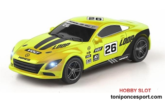Coche Slot Car Yellow