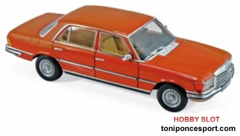 Mercedes Benz 450 SEL 6.9 1976 Inca Orange Metallic