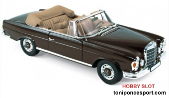 Mercedes Benz 280 SE Cabriolet 1969 Brown