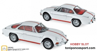Renault Alpine A110 1600S 1971 White with Red