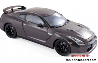 Nissan GTR R-35 2008 Dark Grey Metallic