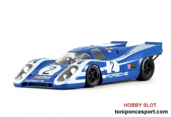 Porsche 917K blue strips white #2 - Targa Florio 1970 Vic Elford - SW Shark 20K Tampo Defect