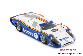 Ford MK IV Rothmans Limited Edition #1 - SW Shark 20K - Tampo Defect -