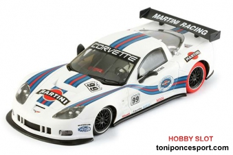 Corvette C6R Martini Racing  #99 - AW KING 19 READY FOR RACING