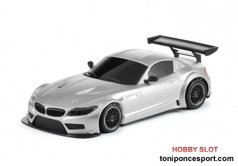 BMW Z4 - E89 Test Car Silver TRIANG - AW King Evo3 - Tampo Defect -