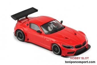 BMW Z4 - E89 Test Car Red TRIANG - AW King Evo 3 - Tampo Defect -