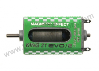 Motor King 21400rpm. 322gr/cm 12v caja larga High Magnet