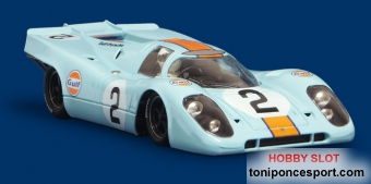 Porsche 917K GULF - 24hrs Daytona 1971 - #2 Tampo Defect