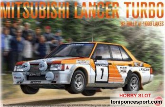 Mitsubishi Lancer Turbo 1000 Lakes Rally 1982
