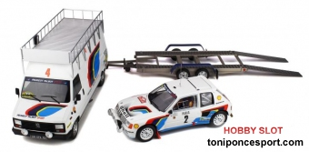 Pack Monte-Carlo 1985 Peugeot 205 T16